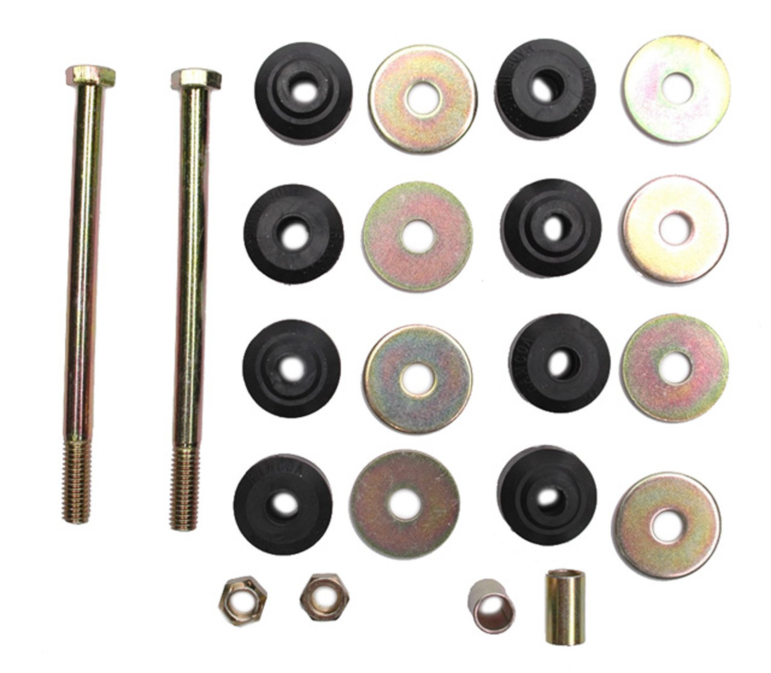 ACDelco 45G0114 Professional Front Suspension Stabilizer Bar Link Kit with Hardware