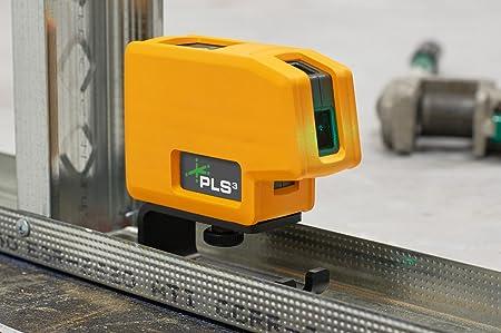 PLS3 3-Point Green Beam Laser Level
