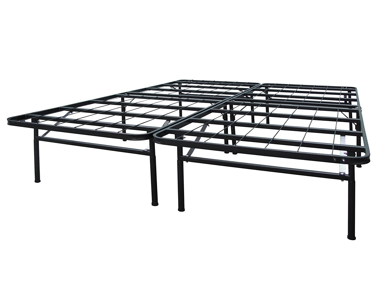 Amazon.com: BioPEDIC Infiniflex Adjustable Mattress Foundation And Bed  Frame, King, Black: Kitchen U0026 Dining