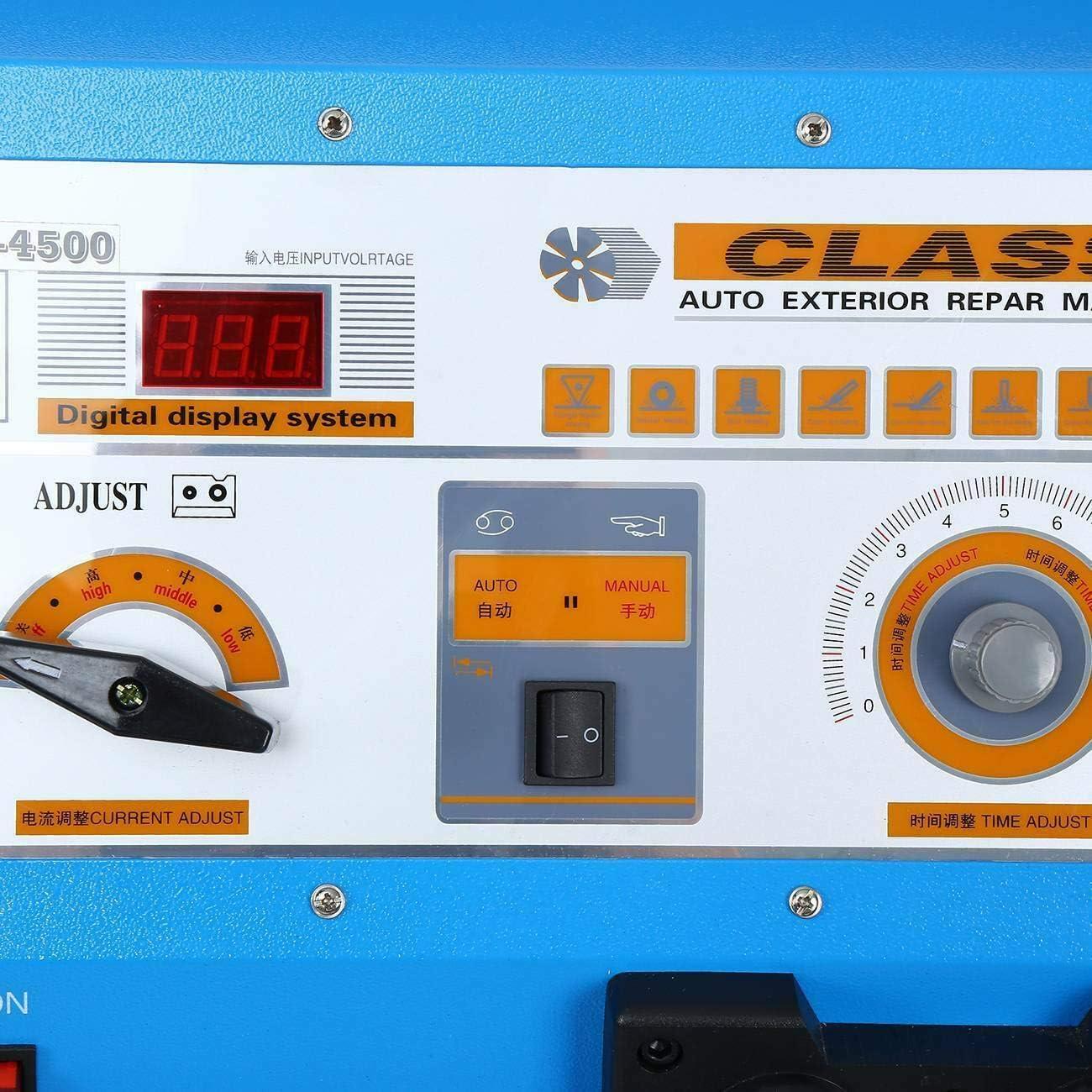 Ambienceo Karosserie Digital Multifunktion Spotter 4500 Ausbeul Spotter Schwei/ßger/ät 400V
