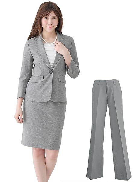 スーツ 洗える 【b5227】 AddRouge ジャケット レディース (アッドルージュ) スカート 2点セット 春夏 クールビズ