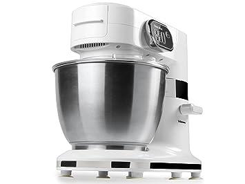 Tristar MX-4162 Robot de Cocina BATIDORA-AMASADORA con Bol MX4162, 1000 W, Acero Inoxidable, 5 Velocidades, Blanco: Amazon.es: Hogar