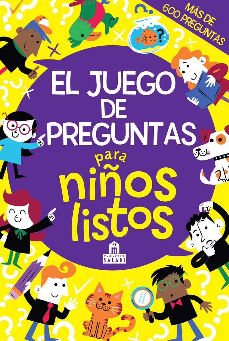 El Juego De Preguntas Para Niños Listos Spanish Edition Farnsworth Lauren 9788893674348 Books