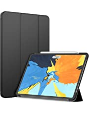 JETech Case for iPad Pro 11-Inch (2018 Release Edge to Edge Liquid Retina Display), Compatible with Apple Pencil, Smart Cover Auto Wake/Sleep, Black