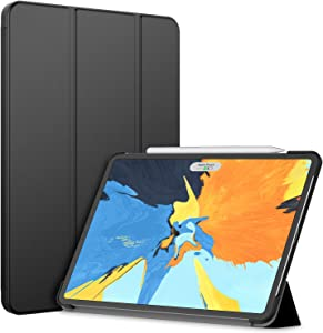 JETech Case for iPad Pro 11-Inch 2018 Model (NOT for 2020 Model), Compatible with Pencil, Cover Auto Wake/Sleep, Black