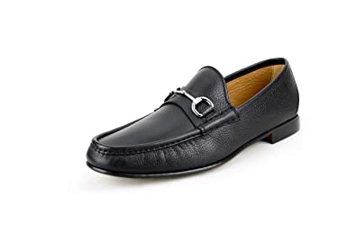 12ffd2990 Amazon.com  Gucci Men s Classic Pebbled Leather Horsebit Loafer ...