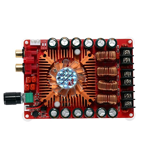Amazon.com: WINGONEER TDA7498E 2x160W Dual Channel Audio Amplifier Board, Support BTL Mode 1X220W Single Channel, DC 24V Digital Stereo Power Amp Module for ...