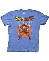 Ripple Junction Dragon Ball Z Retro Goku DBZ With Japanese Adult T-Shirt