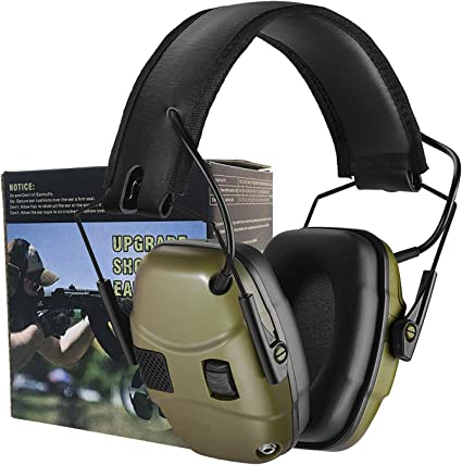 Noise Cancelling Head Gear Impact Sport Electronic Ear Muffs Shooting Protection