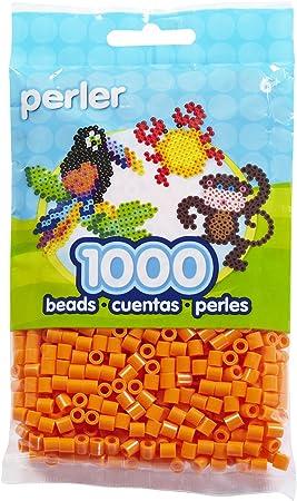 Orange 2000pcs Perler 80-14099 Mini Fuse Bead Craft Supplies