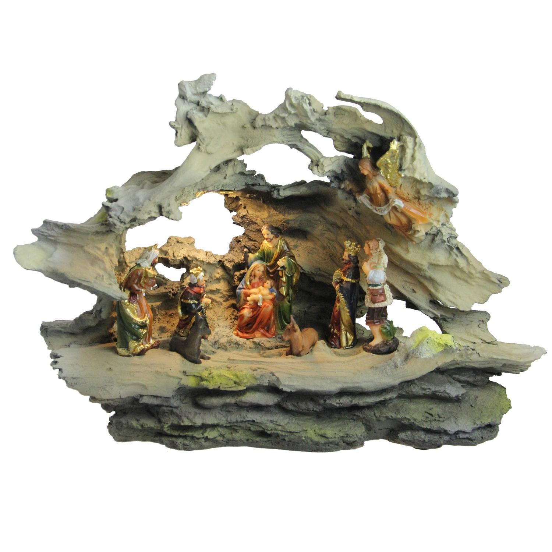 Northlight NL03788 Religious Nativity Scene Christmas Decoration, 16''