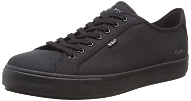 KickersTOVNI Lacer Text Am Black/Black - Zapatillas Hombre, Color Negro, Talla 41