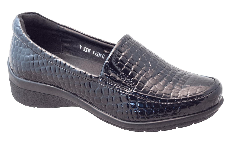 Areni One レディース B07BNR7MHL  Blac Croc 8.5 W US