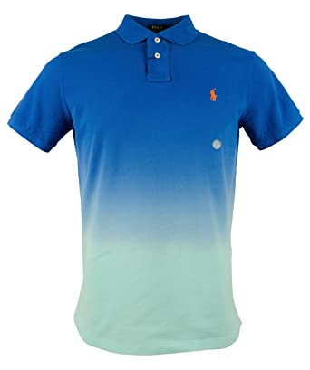 Polo Ralph Lauren Mens Big \u0026 Tall Printed Short Sleeves Polo Shirt