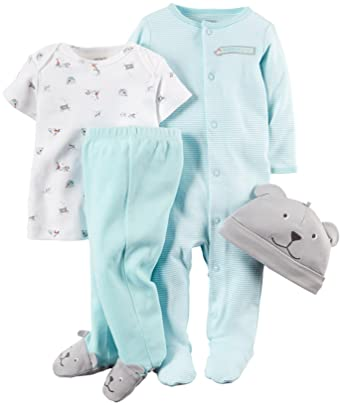 75ac0fdc822c Amazon.com  Carter s Baby Boys Layette Set (Baby)  Clothing