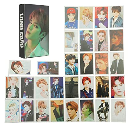 Nuofeng - Kpop NCT EMPATHY Lomo Cards NCT127 NCT Dream Photocard Sticker  Cards Set for NCT Fans(B-30pcs-3)