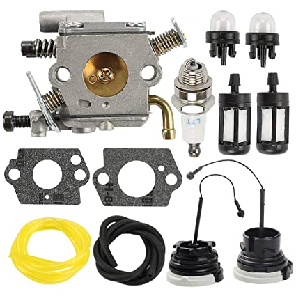 Amazon.com: Butom C1Q-S126B Carburador Carb para Stihl MS200 ...