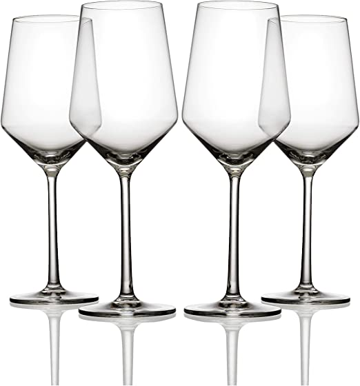 Schott Zwiesel Pure Glassware White Wine Glasses Set of 4 408ml