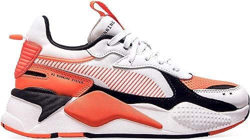 basket puma orange