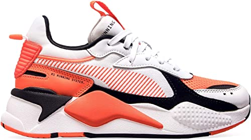 basket puma homme orange
