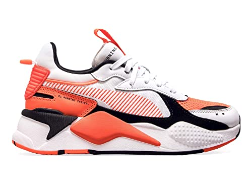 Zapatos de Hombre Zapatilla RS-X Reinvention 36957902 Blanco Naranja Puma SS 2019: Amazon.es: Zapatos y complementos