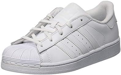 Adidas Superstar C, Chaussures de Gymnastique Mixte Enfant, Blanc FTWR White, 33.5 EU