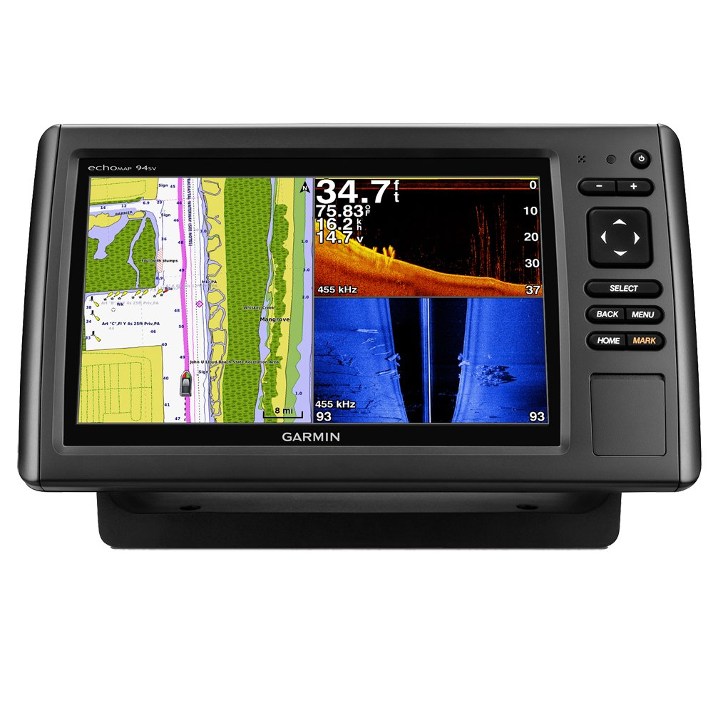 amazon com: garmin echomap chirp 94sv marine chartplotter with gt51m-tm tr: