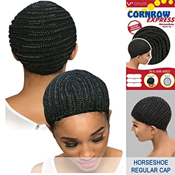 Amazon.com : Vivica A. Fox - CORNROW EXPRESS CAP - Horseshoe-MEDIUM ...