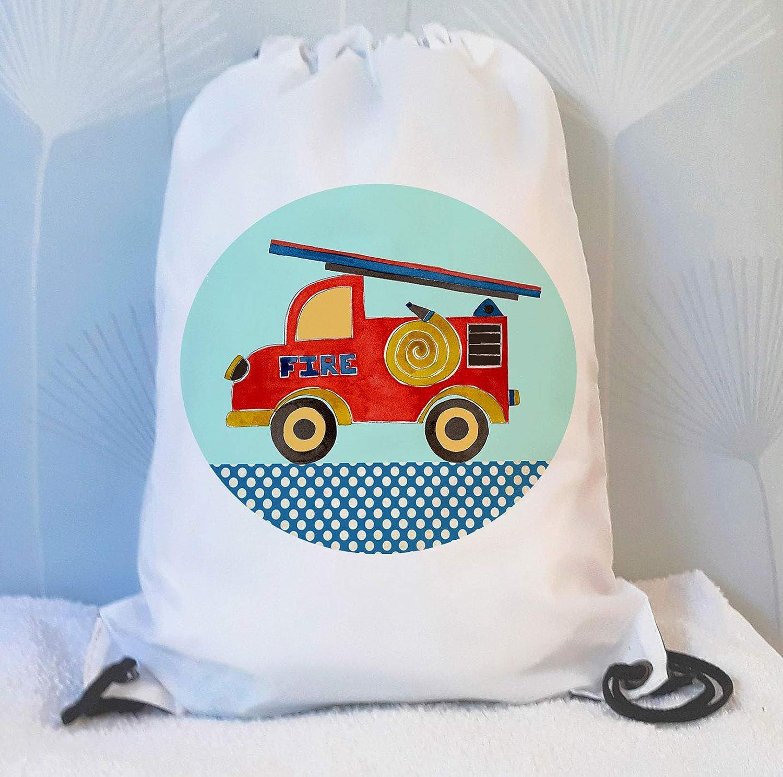 961ea8a00cad tigerlilyprints Fire Engine Swim Bag