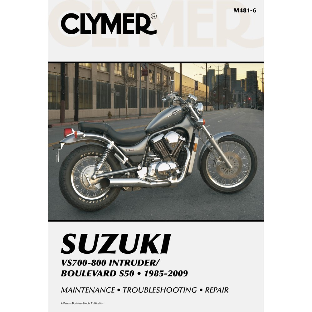 Amazon.com: Clymer Suzuki VS700-800 Intruder/Boulevard S50 (1985-2009):  Automotive
