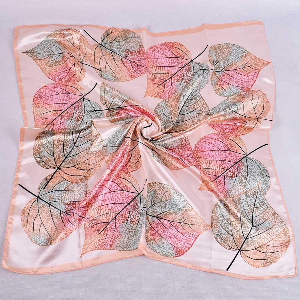 Rosennie Fashion Scarf for Women Winter Lightweight Warm Soft Lady Floral Printed Square toe Wrap Elegant Casual Ladies Scarves Shawl Infinity Gift