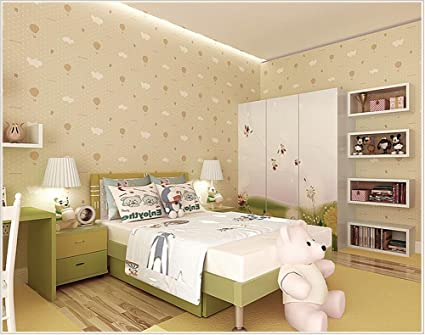 Wallpaper Healthy Non Woven Breathable Cute Interesting Strawberry Parachute Childrens Bedroom 53 Cm