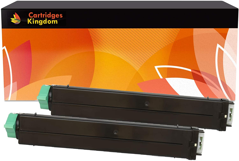 Cartridges Kingdom Pack de 2 Compatibles Cartuchos de Tóner para ...