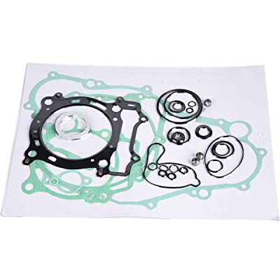 Wingsmoto Complete Tusk Gasket Kit for Top and Bottom End Set YFZ450 YFZ 450 2004-2009: Automotive