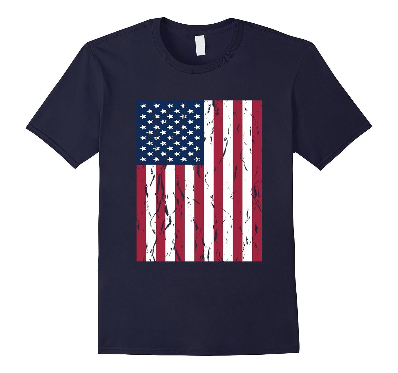 Vintage American Flag T-Shirt-Art
