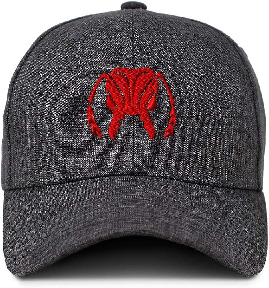 Custom Baseball Cap Red Grasshopper Face Embroidery Casual Hats for Men /& Women