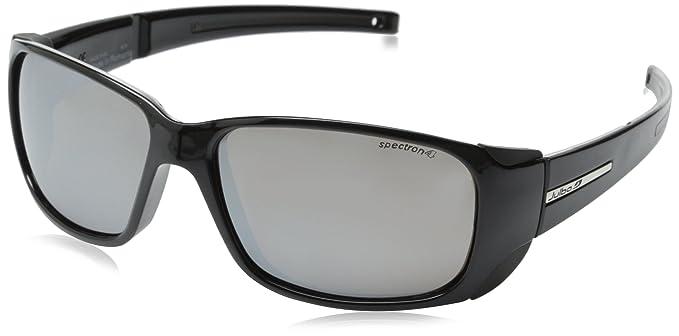 Julbo Monterosa J4011214 Black Sunglasses Medium Fit Cat 4  Amazon ... aef741636d46