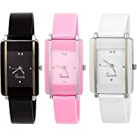 Bobo Bird Analog Multicolour Dial Watches For Womens/Girls (Combo Pack 3 ) Bb-W011