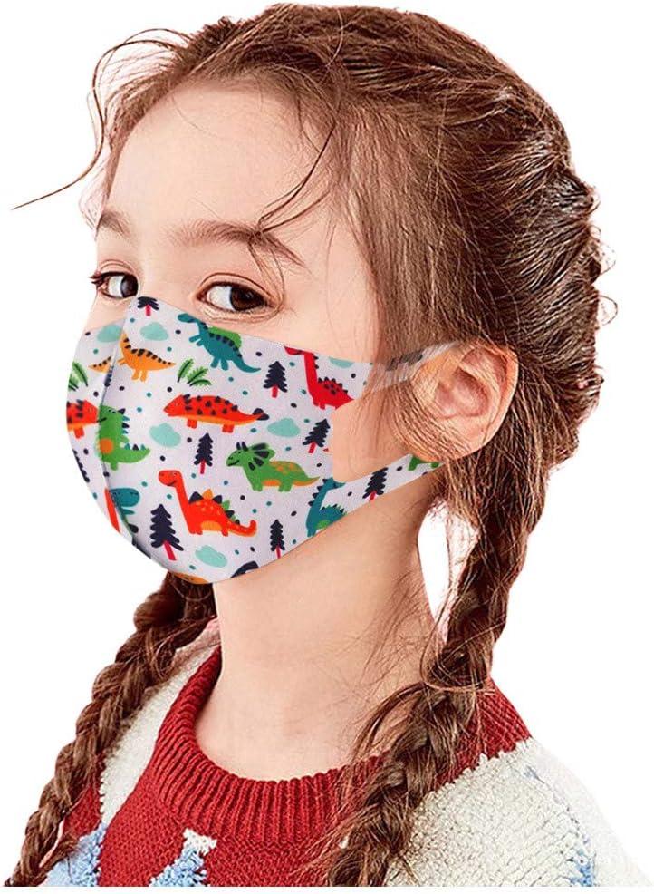 Huluob 𝐌𝐚𝐬𝐜𝐚𝐫𝐢𝐥𝐥𝐚𝐬 imágenes de Dibujos Animados pañuelos faciales para niños algodón Cara Boca Lavable/Reutilizable Unisex (D): Amazon.es: Deportes y aire libre