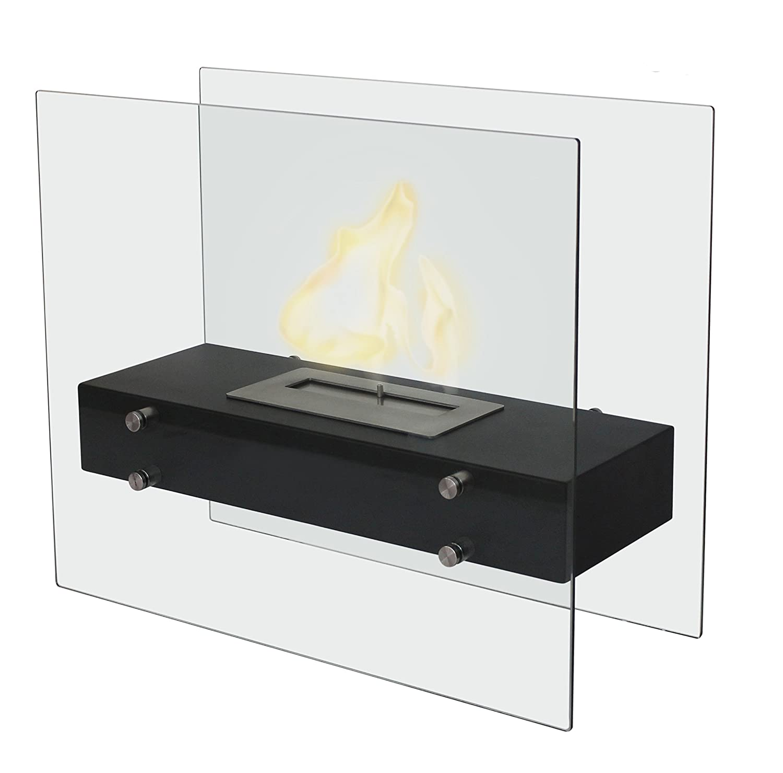 gardeco biofp4 vicenzo bio ethanol fireplace black amazon co uk