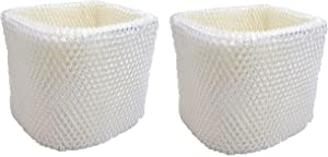 Air Filter Factory 2 Pack Compatible Replacement for Holmes H75-C Humidifier Wick Filters