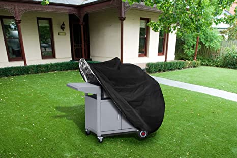 Large Barbecue Cover, Kit de cubierta de parrilla, cubierta impermeable para barbacoa, cubierta para parrilla de gas resistente 145 x 61 x 117 cm ...