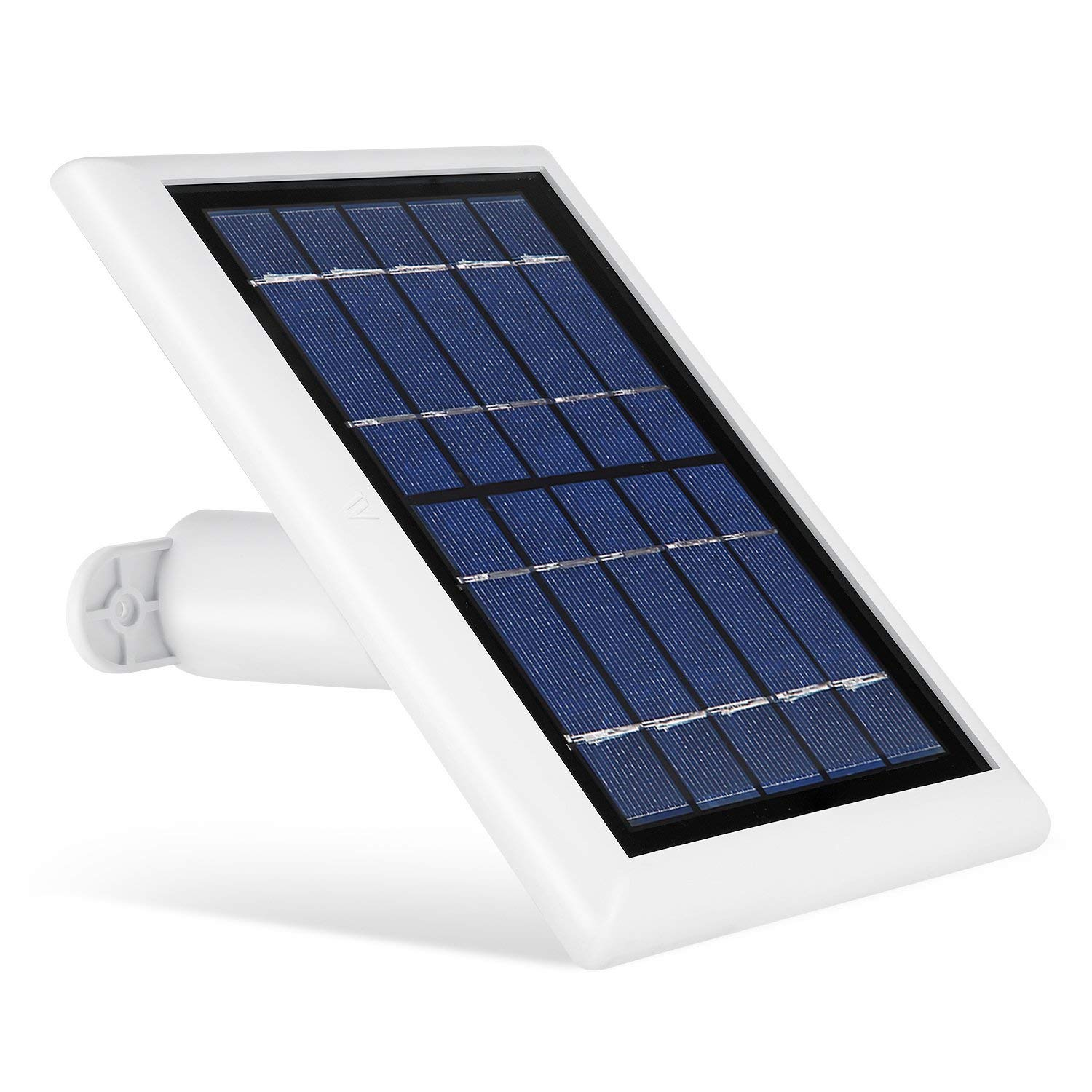 Solar Panel Compatible with Arlo Pro, Arlo Pro 2, Arlo GO & Arlo Light, Power Your Arlo Outdoor Camera continuously with Our New Solar Charging Device - by Wasserstein (White) by Wasserstein (Image #1)