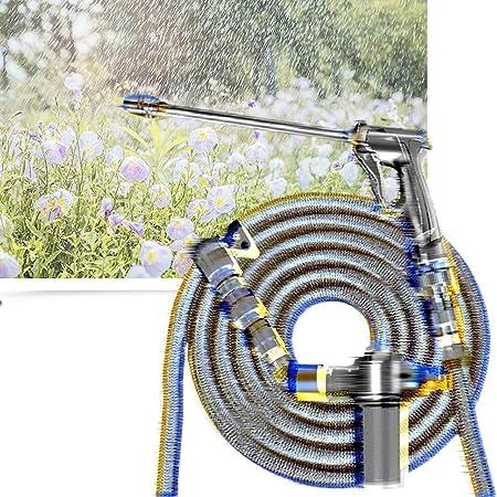 Boquilla de Manguera de jardín Pulverizador Boquilla de pulverización de Servicio Pesado Manguera de jardín Extensible con Pistolas de pulverización Riego Boquillas (Size : 2.5m Suit): Amazon.es: Hogar