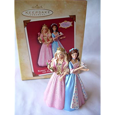 Hallmark Barbie as The Princess and The Pauper Ornament: Home & Kitchen