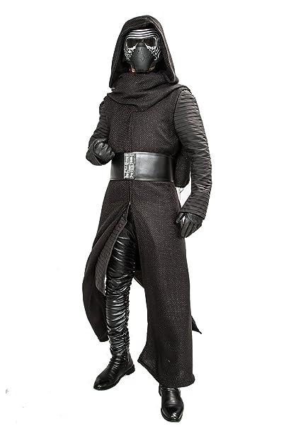 Amazon.com: Disfraz de Kylo Ren deluxe, para hombres, traje ...