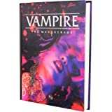 Modiphius Entertainment Vampire: The Masquerade 5th Ed. RPG for Adults, Family and Kids 13 Years Old and Up (Hardback, Full C