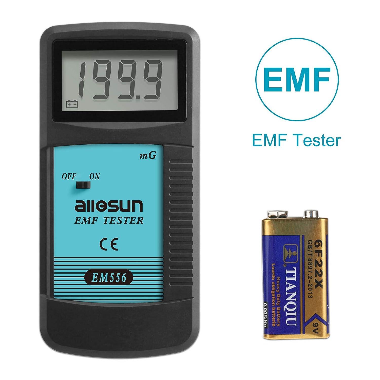 ALLOSUN EM556 Digital EMF Meter Electromagnetic Radiation Detector Dosimeter Zhangzhou Eastern Intelligent Meter Co Ltd