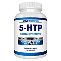 5-HTP 200 MG Plus Calcium for Mood, Sleep, Anxiety - Boosts Serotonin Production...