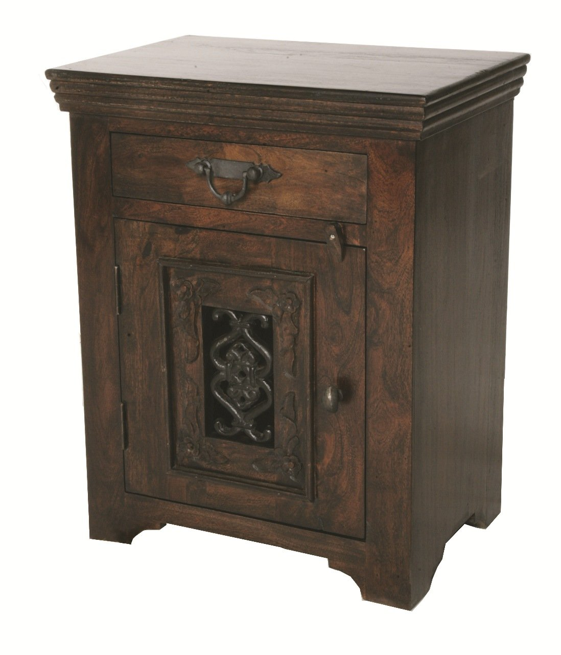 Moti Furniture Old World Design Durango Night Stand